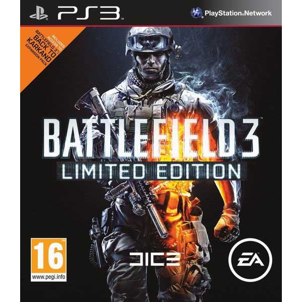 Игра Sony PlayStation 3 Battlefield 3 Premium Edition (русская версия) .